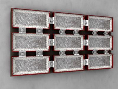 Mit geringem Abstand: FST-Kombiboxen neben- und übereinander anordnen